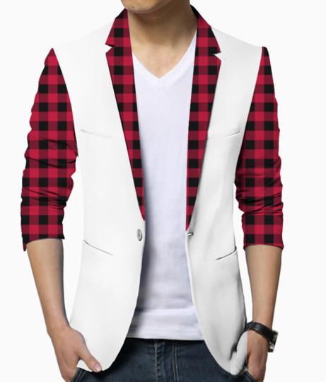 Check mate joggers blazer front