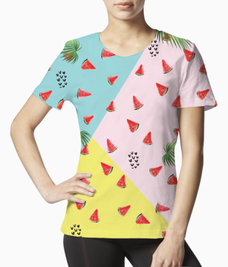 Summer melons tee front