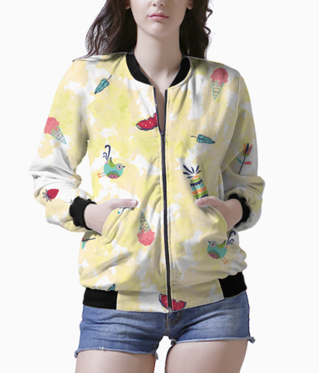 Summery yummery bomber front