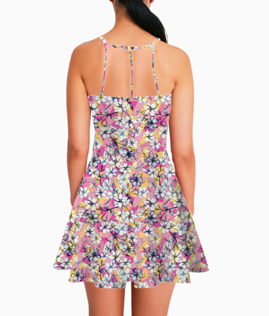 32 summer dress back
