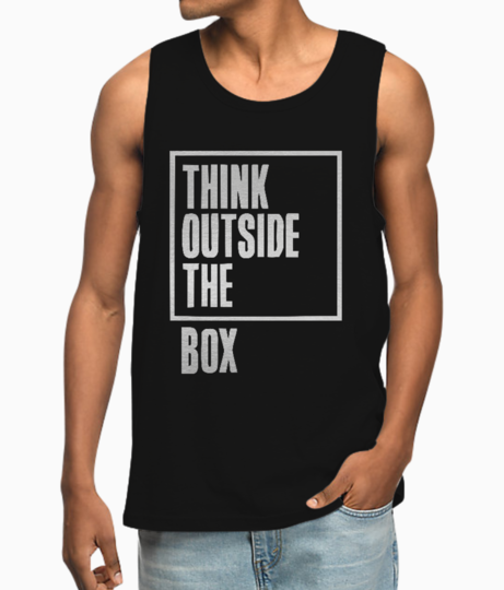 Outside the box vest front