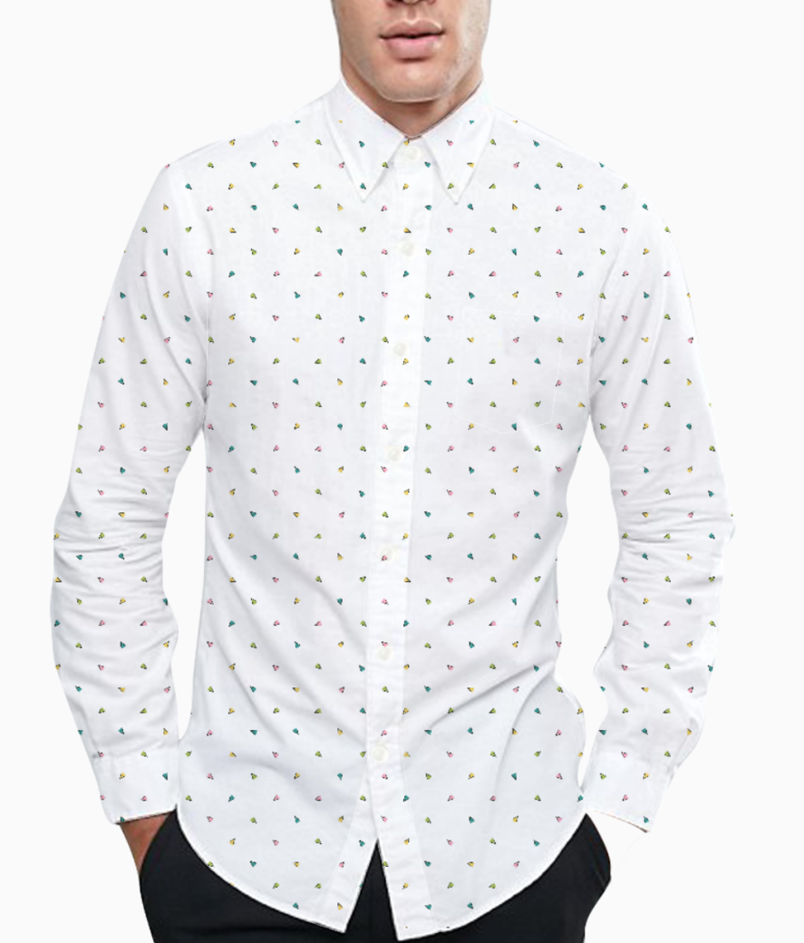 Pattern basic shirt front