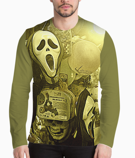 The masks in the melas henley front
