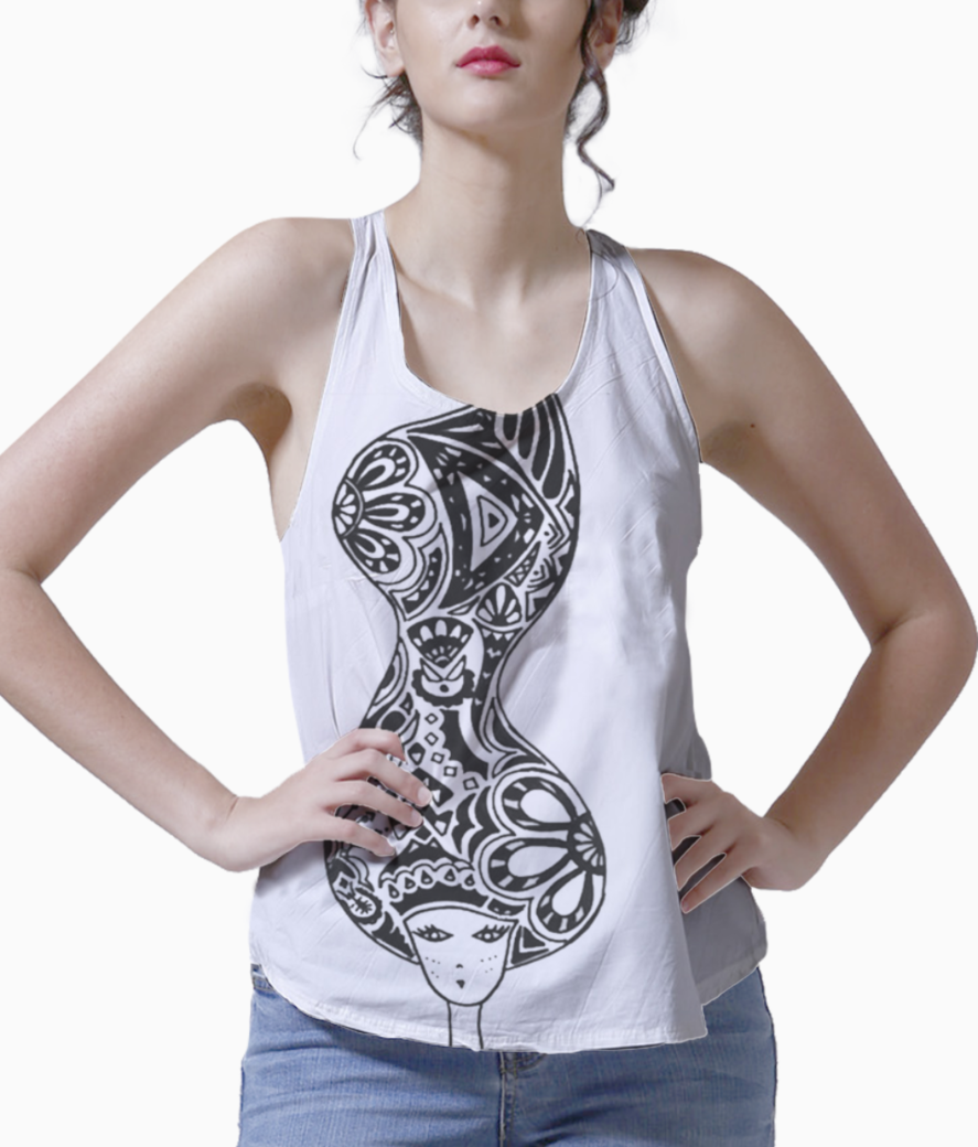 Female's mind 1 tank front