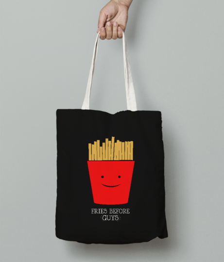 Friesguys tote bag front