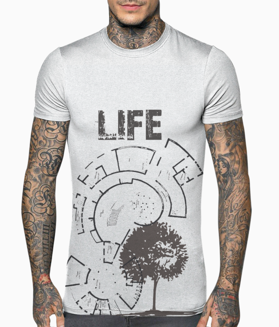 Life t shirt front