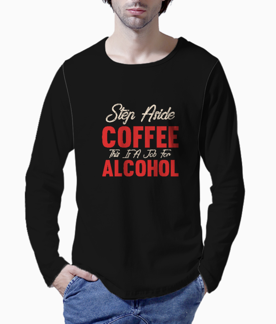 Step aside coffee henley front
