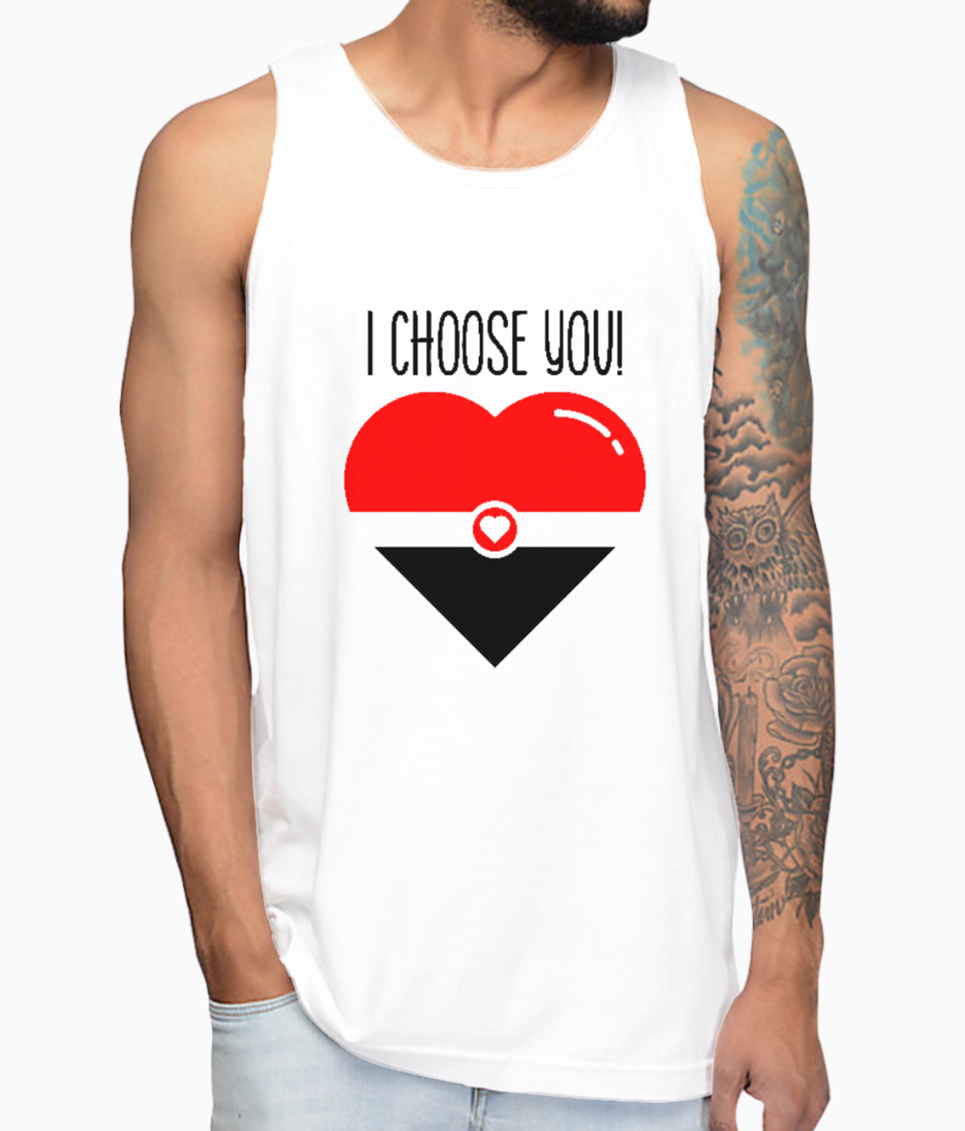 I choose you vest front
