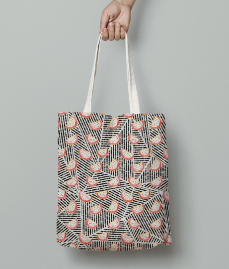 Dragonfruits galore tote bag front