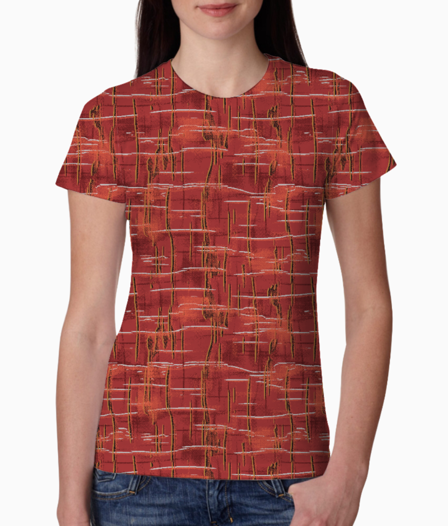 Ucly abstract 01 tee front