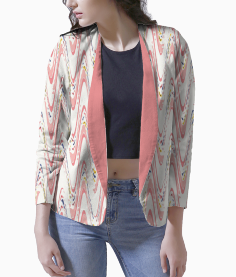Waves blazer front