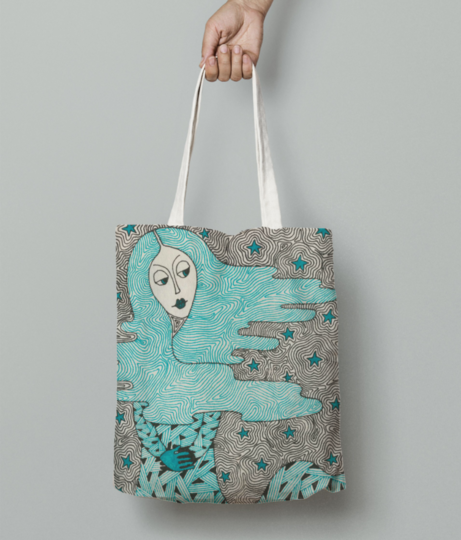 Illustration 0012 tote bag front