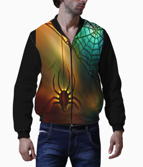 Spider and web bomber front