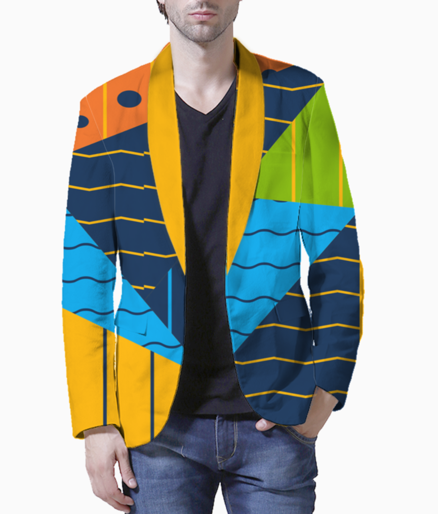 Background colorful abstract1 blazer front