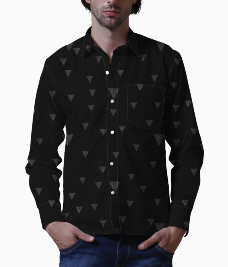 Pattern tri1 basic shirt front