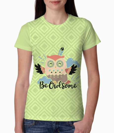 Owl some tee front