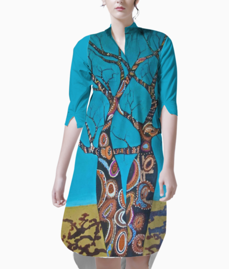 Branched out kurti front