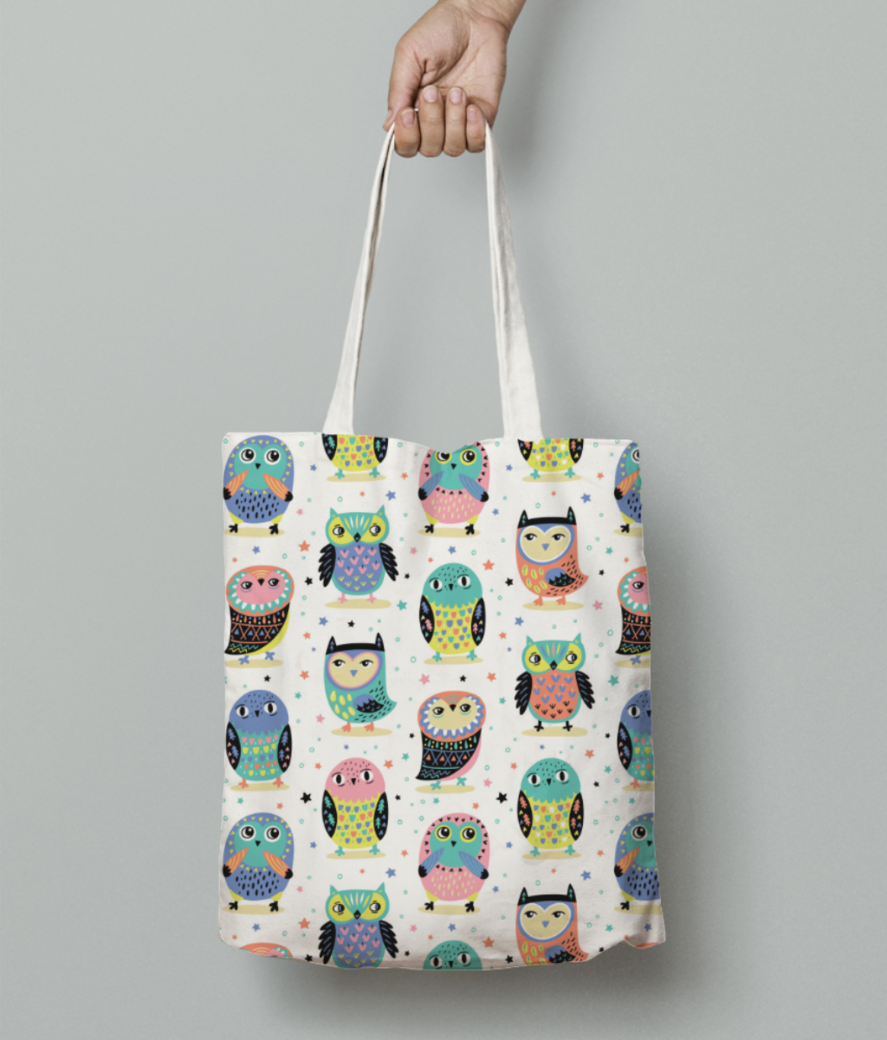 484 tote bag front