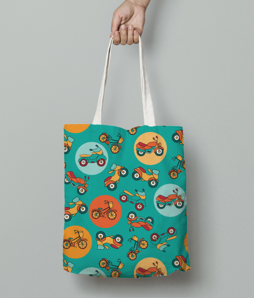 66 tote bag front