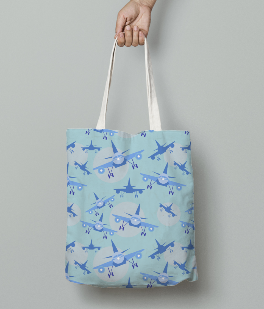 76 tote bag front
