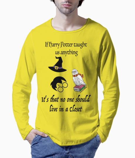 Harry potter henley front