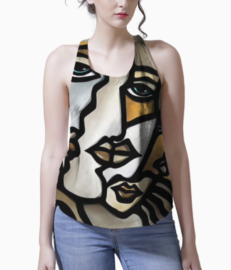 Faces tank front