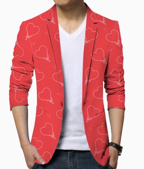 Dripping in love blazer front