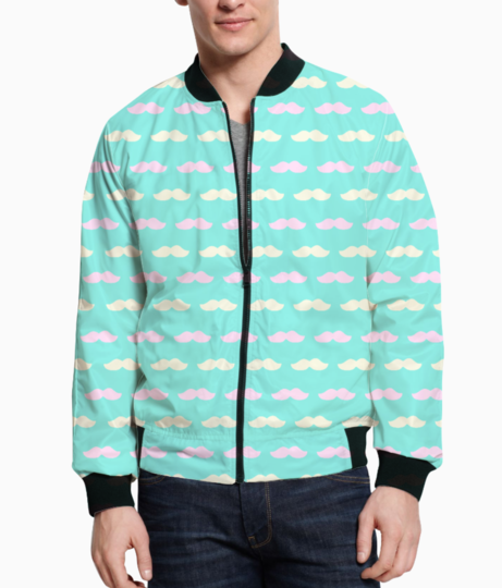 Mustache bomber front