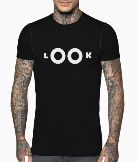 Look t shirt front