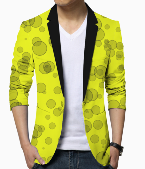 Bubble blazer front