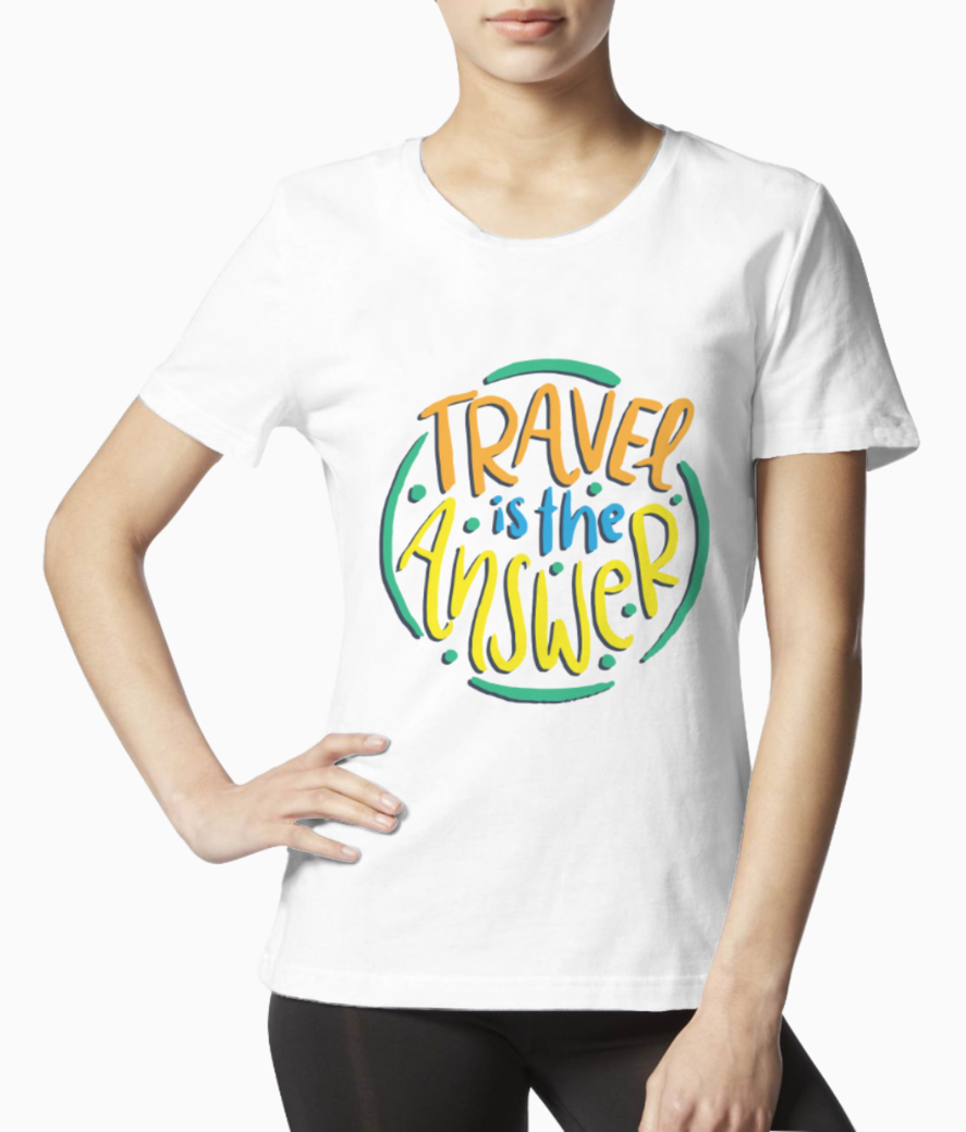 Travel love tee front