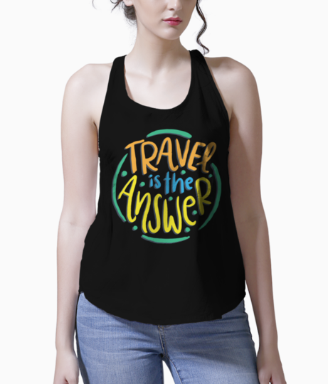 Travel love tank front