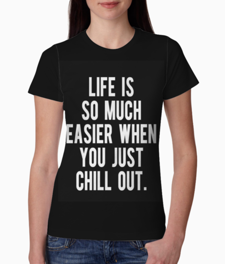 Chill out tee front