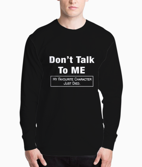 Dont talk to me 2 henley front