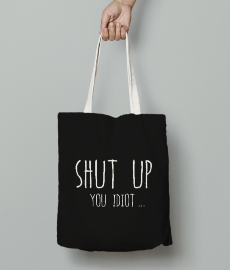 You diot tote bag front