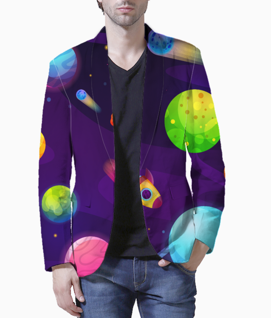 Space buddy blazer front