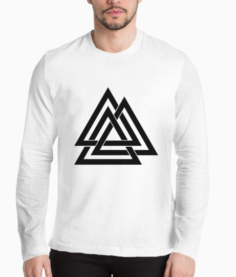 3 triangle henley front