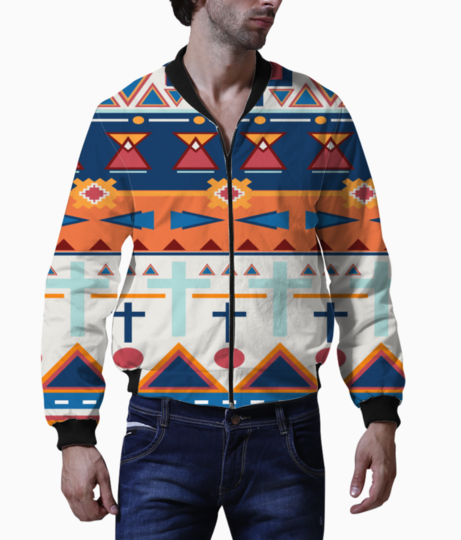 Tribal design 2 bomber front