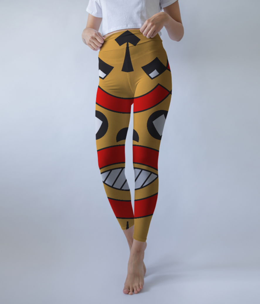 Songye tribe leggings front