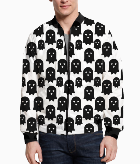Ghost triangle bomber front