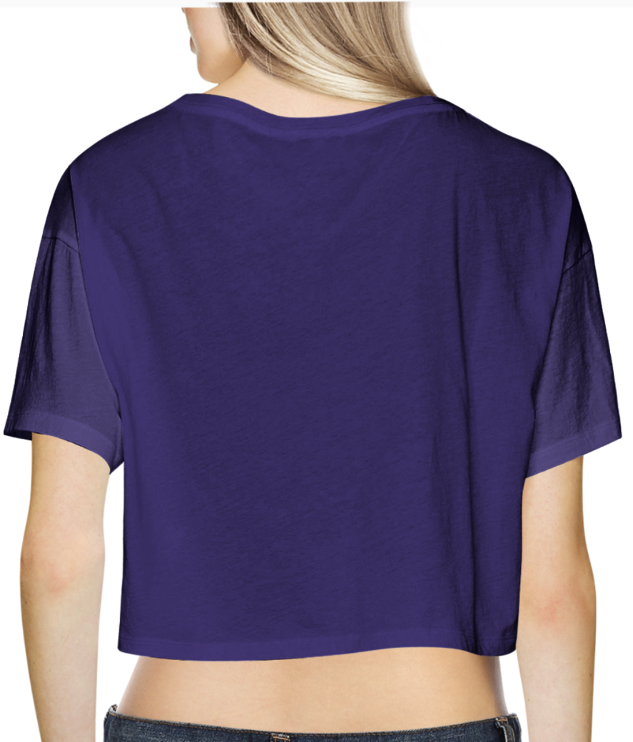 30 crop top back