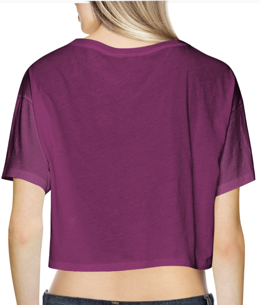 31 crop top back