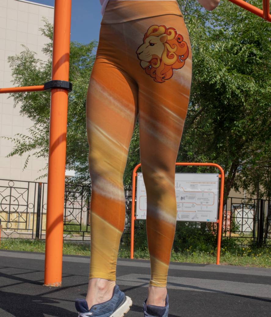 Leo leggings front