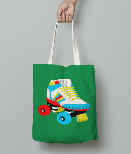 Popart 2 tote bag front