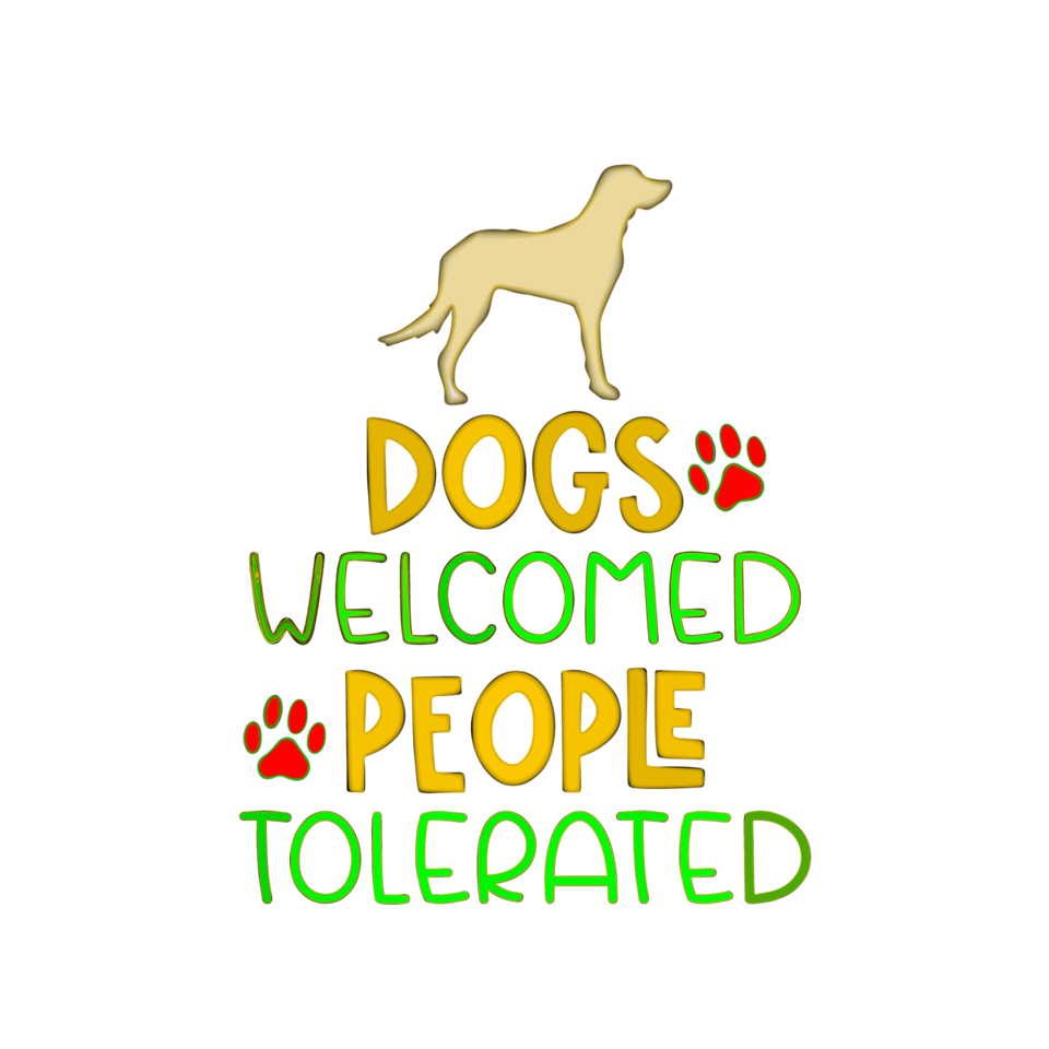 Dogs welcome.