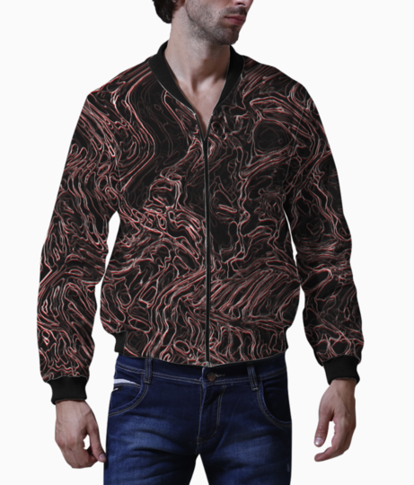 Dull waves bomber front