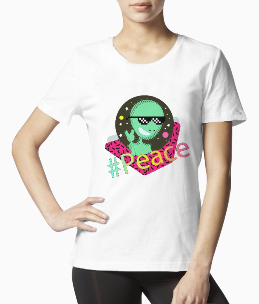 peace tee front