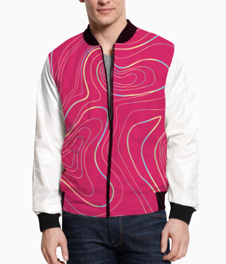Abstract art 2 bomber front