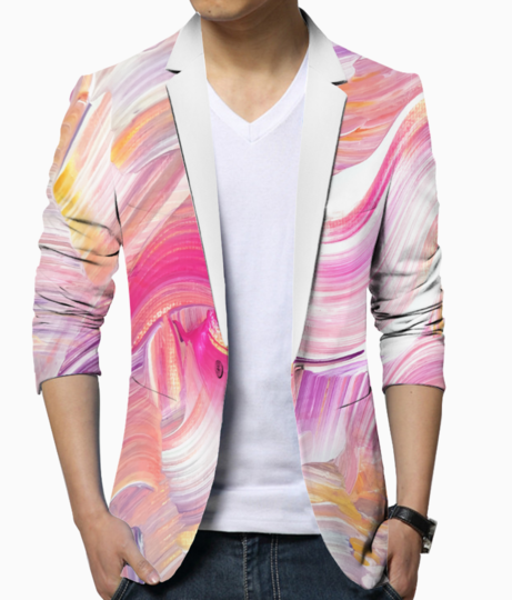 Paint shades blazer front