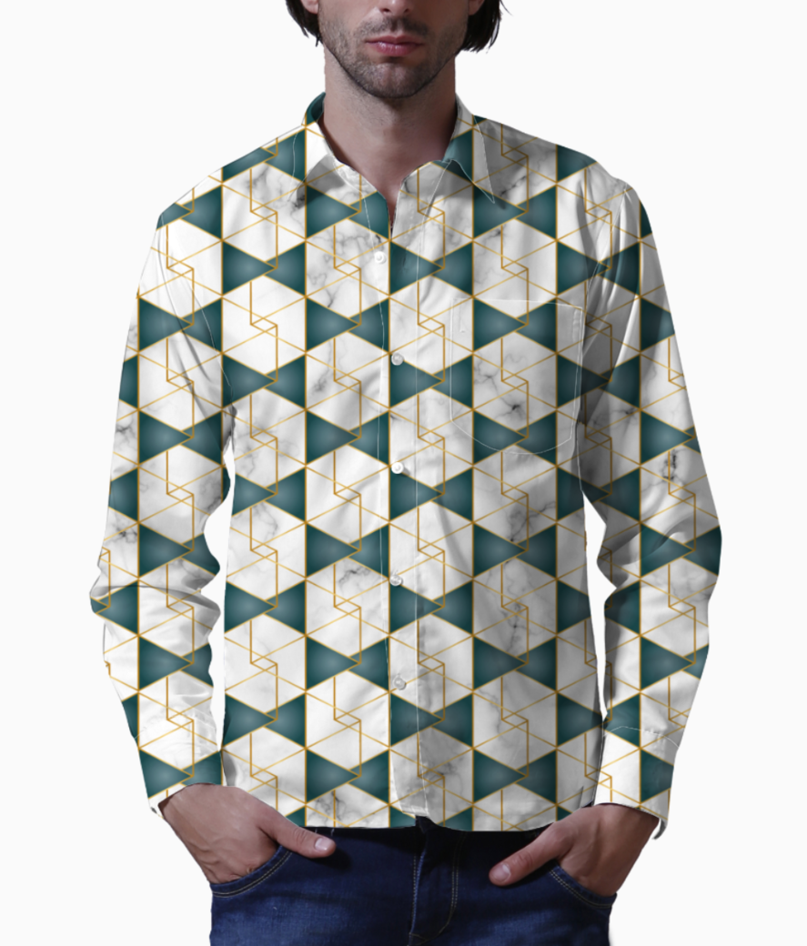 Art deco art  4 basic shirt front